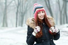 Happyl teen girl Stock Photo