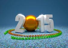 HappyNewYear 2015年 免版税库存图片