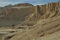 Hapsepsut-Tempel Ägypten Stockbild