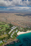 Hapuna Beach, Big Island, Hawaii Stock Photos