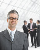 Hapy businessman Stock Photo