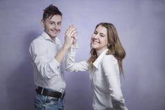 Hapy couple Stock Photo