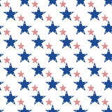 Hapy Independence Day seamless pattern vector. Stock Photos