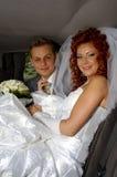 hapy ślubnych Obrazy Royalty Free