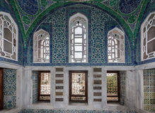 Harén Estambul del palacio de Topkapi Fotos de archivo libres de regalías