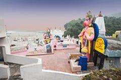 Har Ki Pauri tempel royaltyfria foton