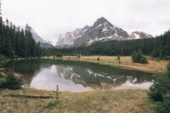 ` Hara Trail del lago O fotografia stock