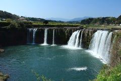 Harajiri spada w Oita prefekturze, Japonia Fotografia Royalty Free