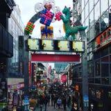 Harajuku, de Straat van Tokyo - Takeshita- royalty-vrije stock afbeelding