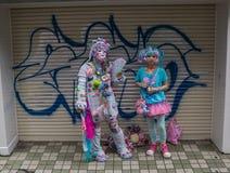 Harajuku dziewczyny Obrazy Royalty Free