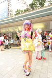 Harajuku fashion Royalty Free Stock Photo