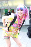 Harajuku fashion royalty free stock photography