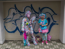 Harajuku Girls royalty free stock images