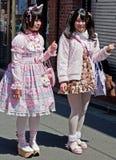 Harajuku Girls in Tokyo, Japan Stock Photography
