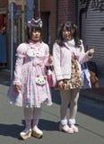 Harajuku Girls in Tokyo, Japan Royalty Free Stock Photo