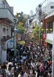 Harajuku Japan op Zondag Royalty-vrije Stock Fotografie