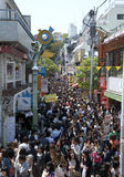 Harajuku Japan on Sunday Royalty Free Stock Photography