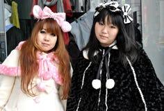 Harajuku Lolita Mädchen Stockbild