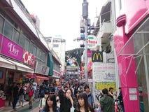 Harajuku-Nebenstraße Stockfoto