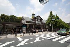 Harajuku-Station, Japan Lizenzfreies Stockfoto