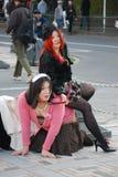 Harajuku style street fashion Stock Photography