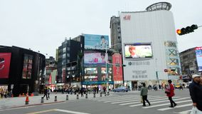 Ximending Youth Shopping District Stock Photography