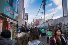 Harajuku - Takeshita Street, Tokyo, Japan Royalty Free Stock Photo