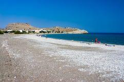 Haraki Beach Rhodes Royalty Free Stock Photography