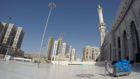 Haram meczet w mekki Cleaner Fotografia Stock