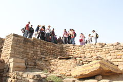 Harappan Civilization stock image
