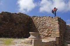 Harappan civilization, Dholavira,Gujarat Stock Image