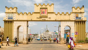 Harar Gate Royalty Free Stock Photos