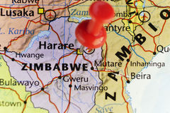Harare capital city of Zimbabwe Stock Photo
