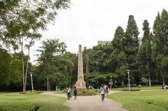 Harare trädgårdar Zimbabwe Fotografering för Bildbyråer