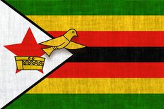 HARARE, ZIMBABWE, o 30 de julho de 2018 - eleições livres em Zimbabwe após quase 40 anos Imagens de Stock