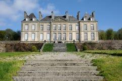 Haras Национальн du Pin в Normandie Стоковая Фотография