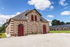 Haras obywatel De Święty Lo, Francja zdjęcia royalty free