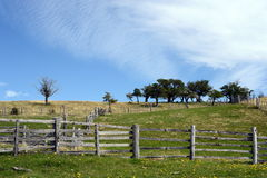 Harberton庄园是火地群岛和区域的一座重要历史纪念碑最旧的农场  图库摄影