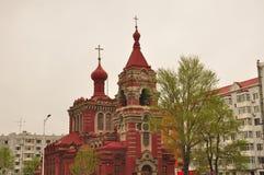 Harbin östlig ortodox kyrka Royaltyfri Bild