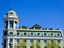 Harbin Central Avenue European style architecture Royalty Free Stock Image