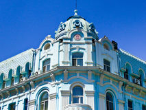 Harbin Central Avenue European style architecture royalty free stock photo