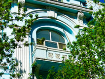 Harbin Central Avenue European style window royalty free stock image
