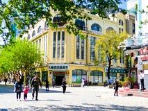 Harbin Central Avenue Streetscape Royalty Free Stock Photos