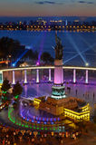 Harbin-Hochwasserschutz-Denkmal Lizenzfreies Stockbild