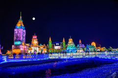 Harbin Ice City Royalty Free Stock Photos