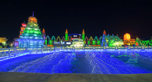 Harbin Ice Stock Image