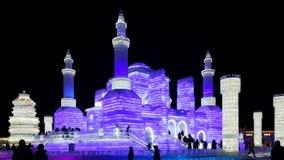 Harbin lodu festiwalu rzeźba Zdjęcia Stock