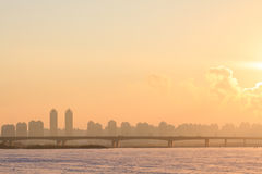 Harbin Songhua River scenery. Eastphoto, tukuchina,  Harbin Songhua River scenery Stock Photo