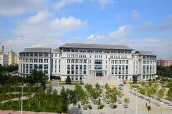 Harbin teknikuniversitetar royaltyfri fotografi