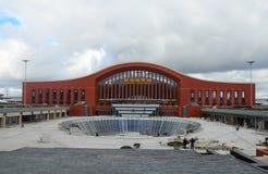 Harbin västra järnväg station Arkivbilder
